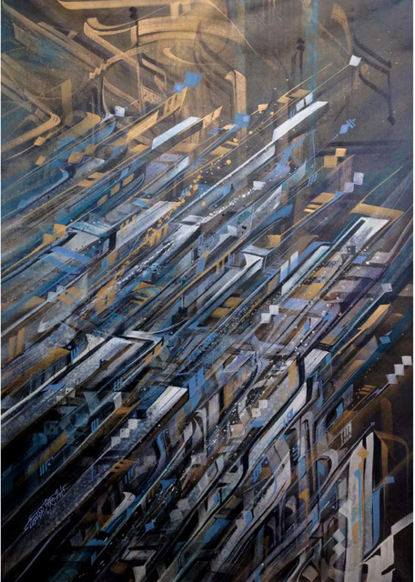 , 'Infrablue,' 2015, Pretty Portal