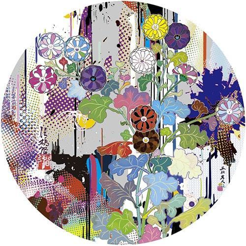 Takashi Murakami, 'Korin: Superstring Theory', 2015, Print, Offset lithograph in colors with foil and gloss varnish on smooth wove paper, End to End Gallery