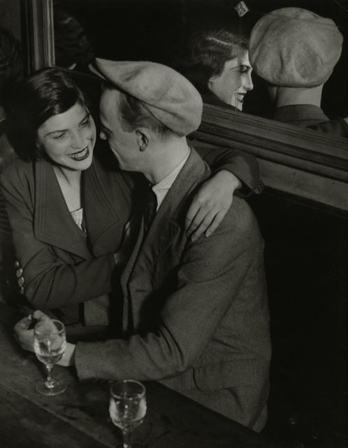 , 'Couple souriant, Balmusette des quatre saisons, Rue de lappe,' c. 1932, Edwynn Houk Gallery