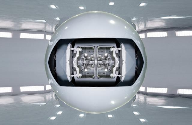 , 'Gravitational Rotator,' 2013, Bank/ Mabsociety
