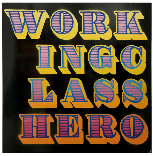 , 'Working Class Hero,' 2017, Black Book Gallery