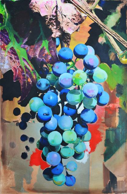 , 'Grapes (Blue),' 2017, Aki Gallery