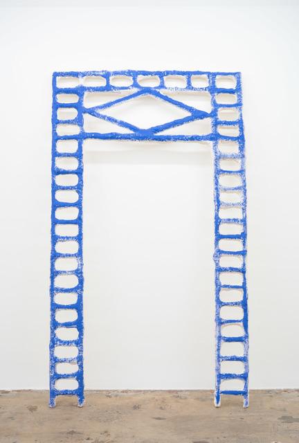 Jamilah Sabur, 'Tilt (blue)', 2019, Nina Johnson