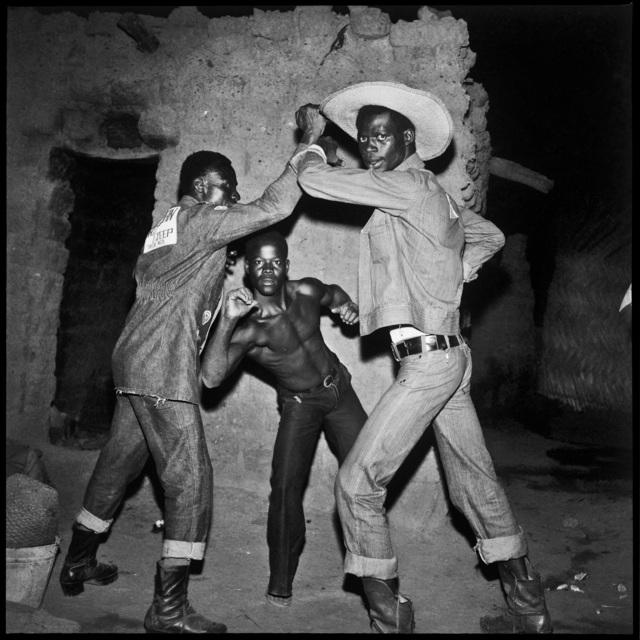 Sanlé Sory, 'Les Trois Cowboys de la Brousse', 1971, David Hill Gallery