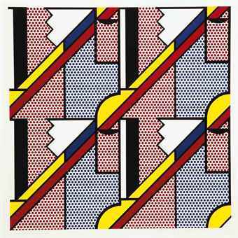 Roy Lichtenstein, 'Modern Print', 1971, Print, Lithograph & screenprint, Vertu Fine Art