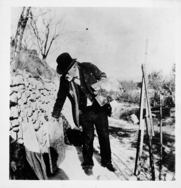 , 'Paul Cézanne on the Hill of Les Lauves ,' 1906, Temporary Gallery