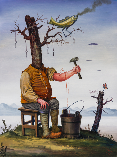 Mike Davis, 'Inward, Outward, Upward', 2017, Hashimoto Contemporary