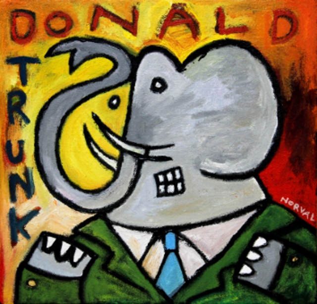 , 'Donald Trunk ,' 2016, Zenith Gallery