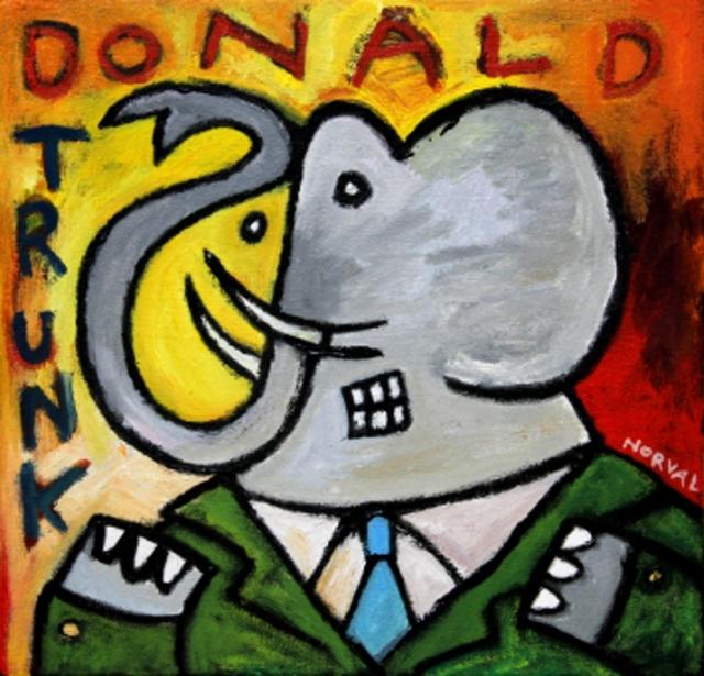 , 'Donald Trunk ,' 2016, Zenith Gallery