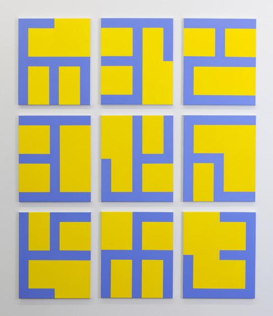 , 'Eviter le Pire (Yellow),' 2013, Tatjana Pieters