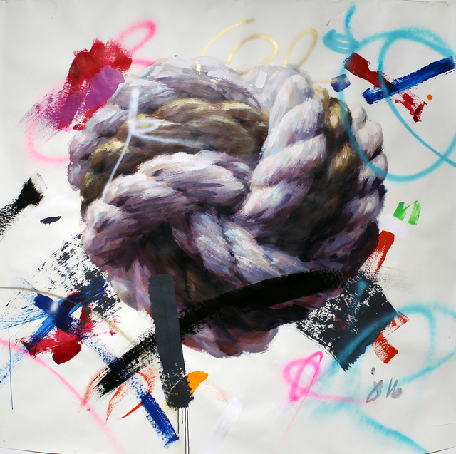 , 'Love Knot,' 2017, Gallery at Zhou B Art Center