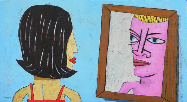 , 'Mirror,' 2019, LeMieux Galleries