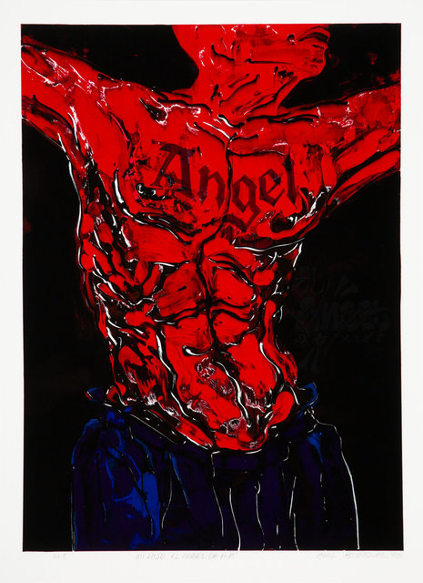 Chaz Bojorquez, 'Mi Hijo El Angel', 1998, Heritage Auctions