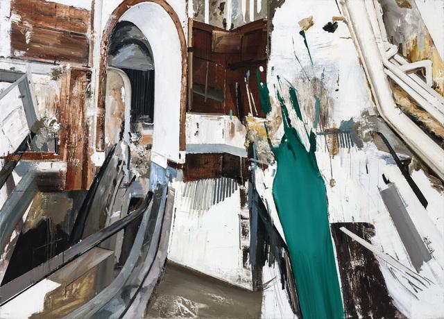 , 'Green Dress,' 2014, Between Art Lab