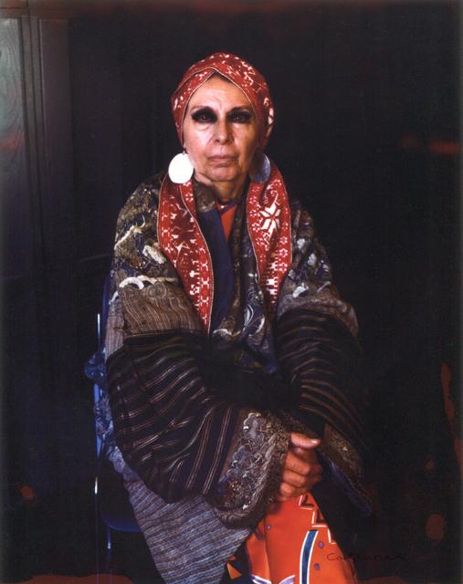Marie Cosindas, 'Louise Nevelson', 1970, Bruce Silverstein Gallery