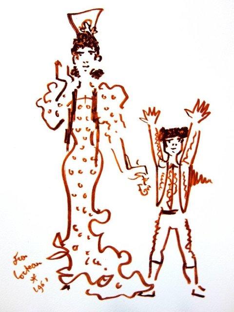 "Jean Cocteau, 'Original Lithograph ""Mother and Son"" by Jean Cocteau', 1965, Galerie Philia"