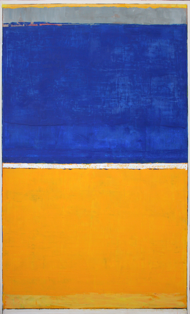 , 'Blue Over Yellow,' , Wallace Galleries