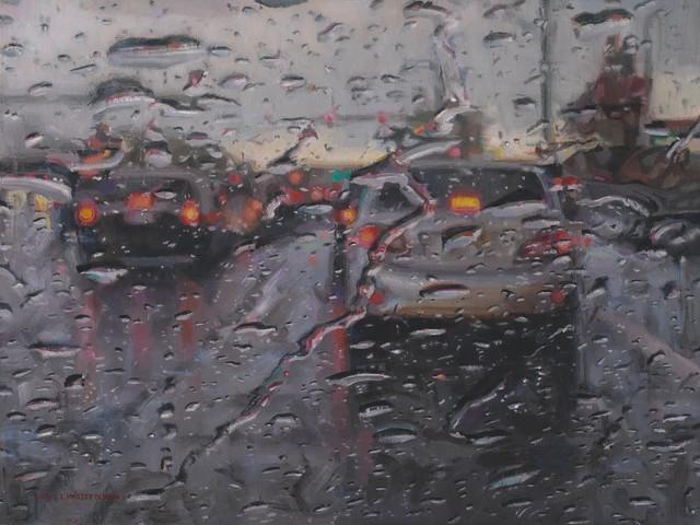 , 'Driving in the Rain II,' 2017, Gallery 1261