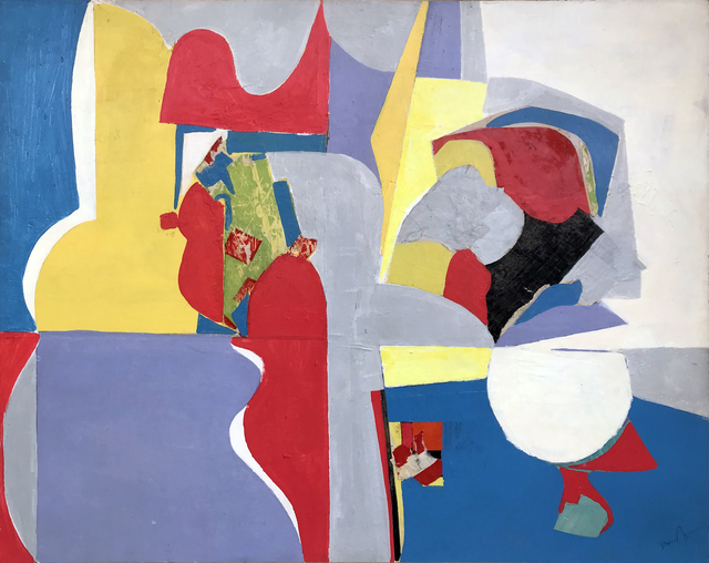 , 'Yellow No. 2,' 1960-1969, Modern West Fine Art