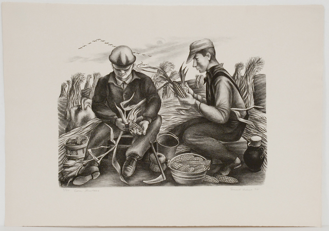 , 'Corn Huskers,' 1934, Sragow Gallery