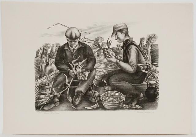 , 'Corn Huskers,' 1934, Sragow Gallery