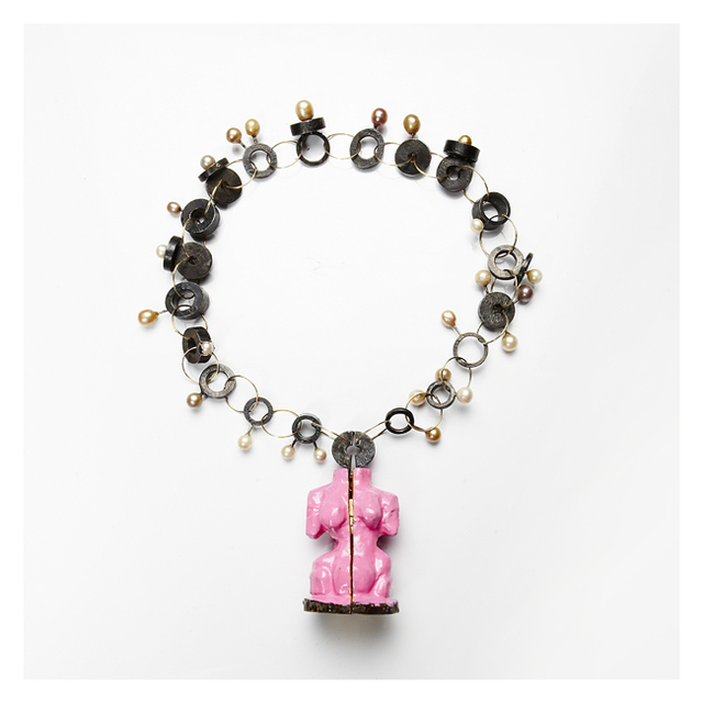 , 'Pink Venus necklace,' 2009, Caroline Van Hoek