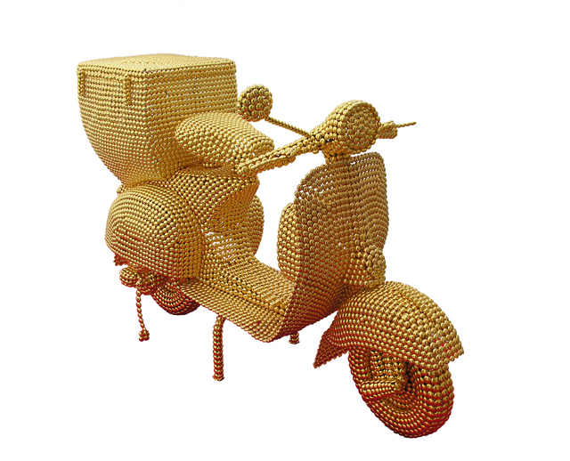 , 'The Golden Scooter,' 2011-2012, Opera Gallery