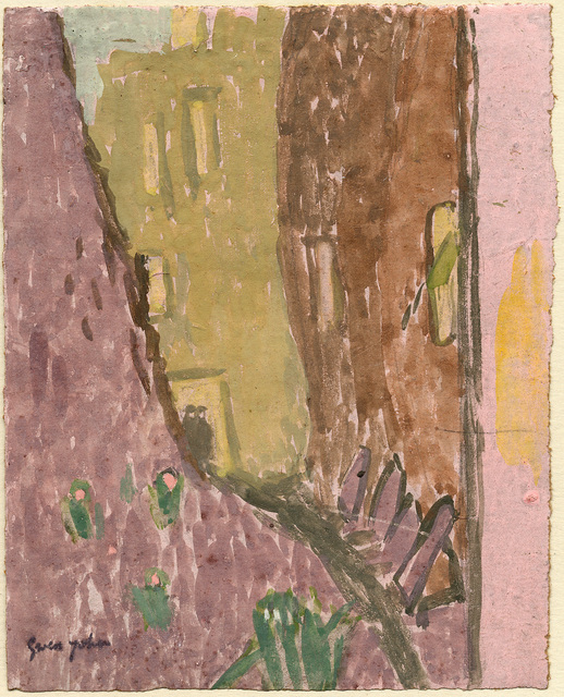 Gwen John, 'Street in Twilight, Meudon', Executed probably late 1920s – early 1930s, Davis & Langdale Company, Inc.