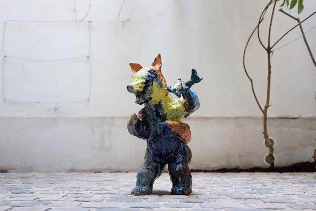 , 'Hybride, Ours et poisson,' 2016, Antonine Catzéflis