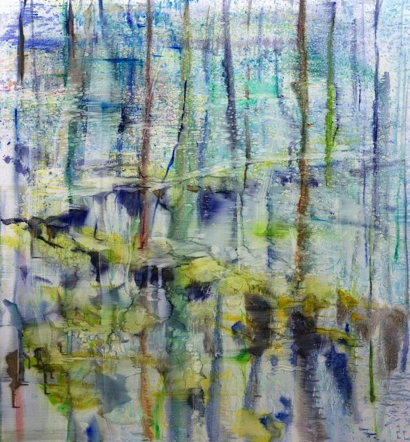 , 'Lake 2,' 2017, Galerie Andreas Binder