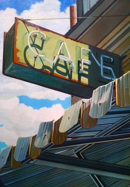 , 'Cafe,' 2017, Sue Greenwood Fine Art