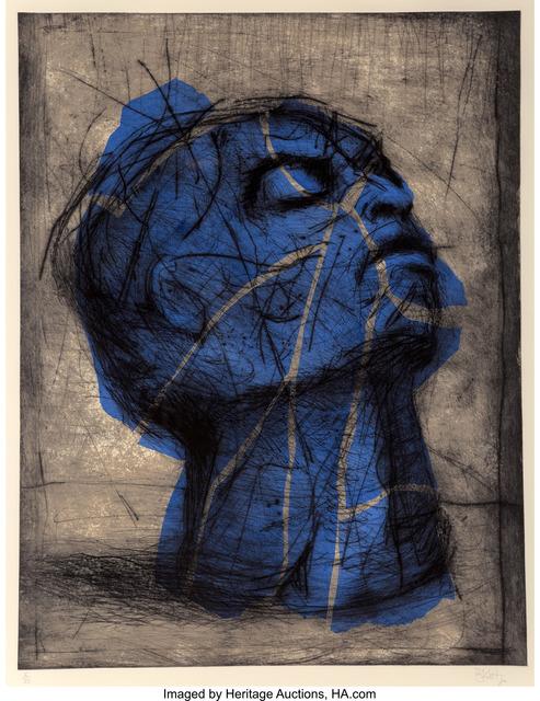 William Kentridge, 'Blue Head', 1993-98, Heritage Auctions