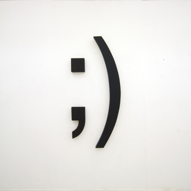 , 'Emoticons ;),' 2011, Agua8 Art Rooms