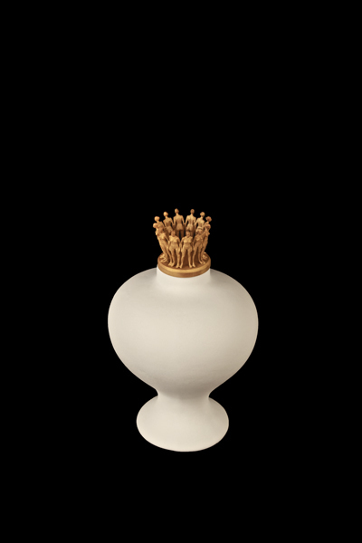 , 'Crowned Vessel 9,' 2013, Nohra Haime Gallery