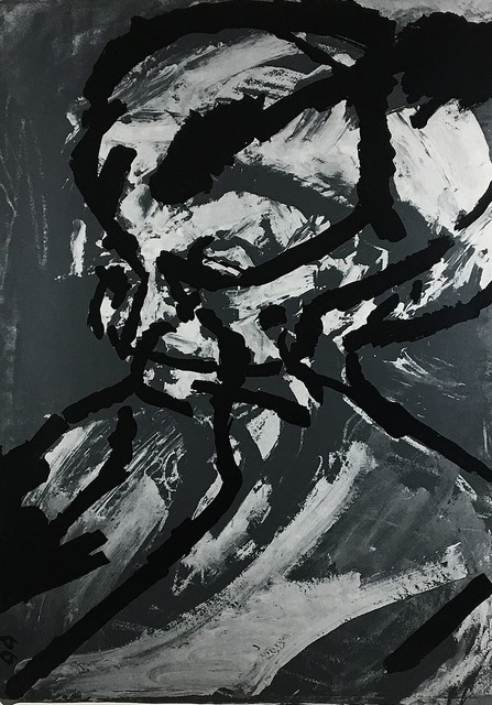 , 'Portrait of G.B.,' 1966, Castlegate House Gallery