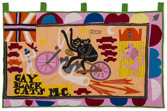 Grayson Perry, 'Gay Black Cats MC', 2017, RAW Editions