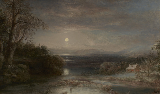 , 'Evening on the Schuylkill,' ca. 1825, M.S. Rau Antiques