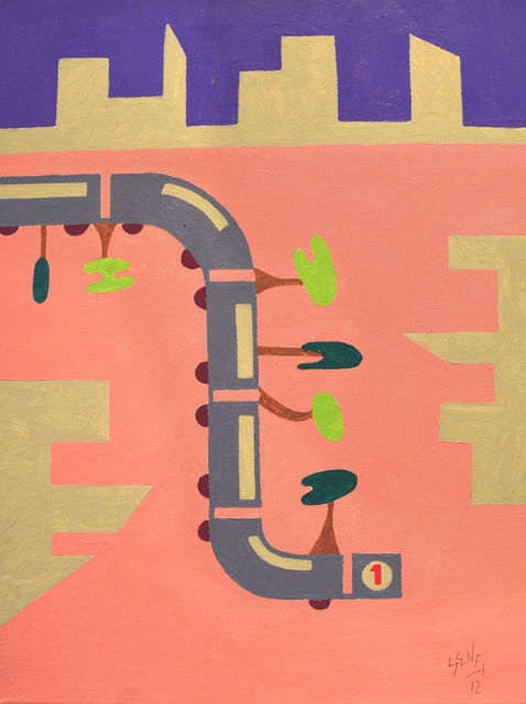 , 'Subway,' 2014, Fountain House Gallery