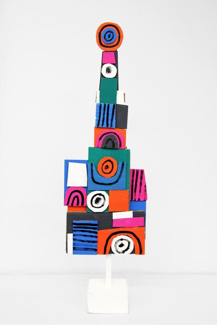 , 'Vertical Assemblage II,' 2016, Mini Galerie