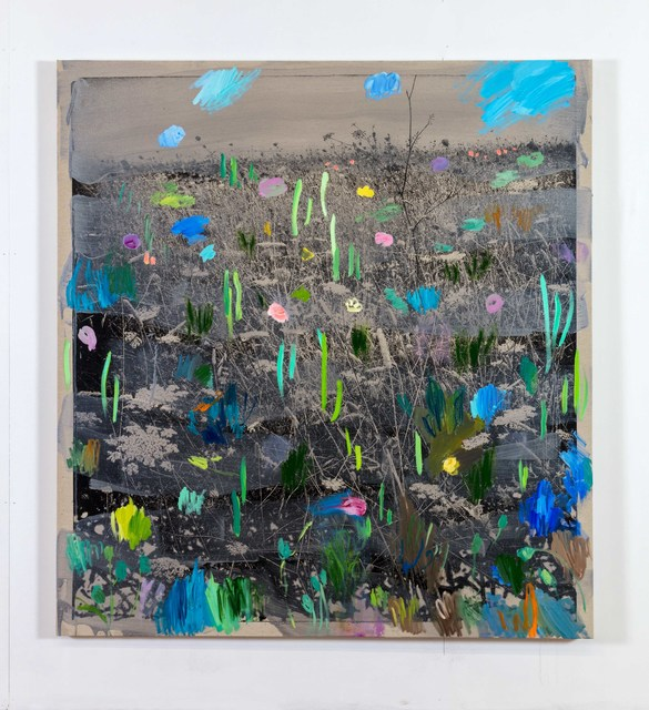 , 'South-west landscape & flowers,' 2018, Alfonso Artiaco