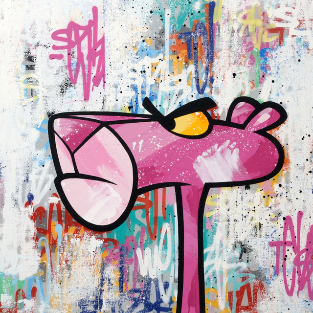, 'Pink Panther 05,' 2017, StolenSpace Gallery