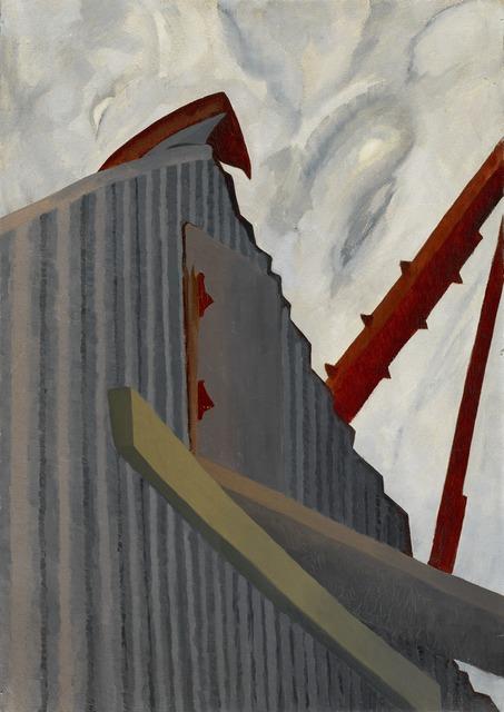 , 'Corrugated Building,' 1929, Norton Museum of Art