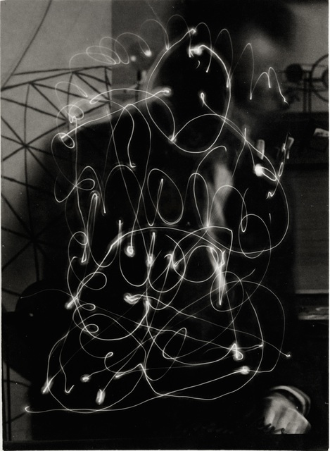 , 'Space Writing (Self-Portrait),' 1935, Bowdoin College Museum of Art
