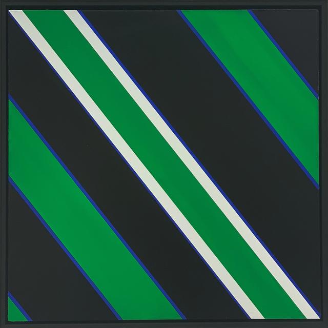 Günter Fruhtrunk, '>>>Weisser Hiatus<<<', 1974, Lorenzelli arte