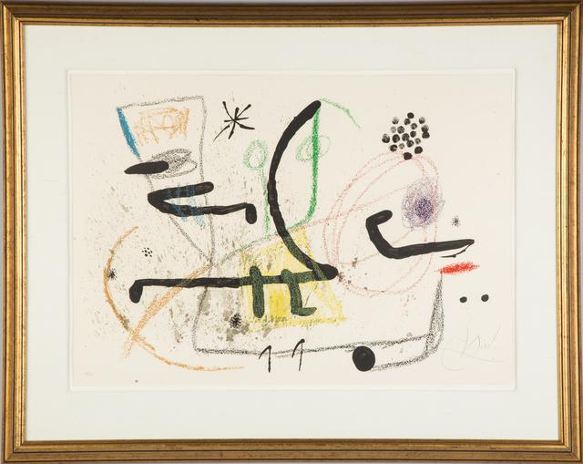 Joan Miró, 'Maravillas con Variaciones Acrosticas en el Jardin de Miro (M. 1061)', 1975, RoGallery