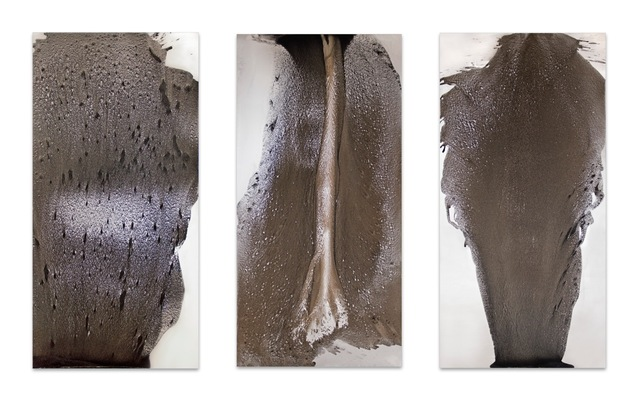 , 'Eruption series. Alluvial drawings,' 2013, Dacil