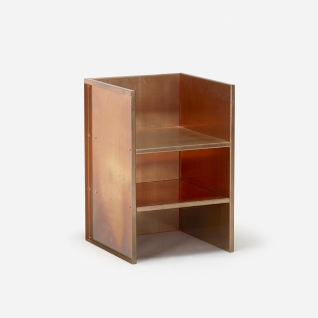 Donald Judd, 'No 1 chair', 1984, Design/Decorative Art, Copper, Rago/Wright