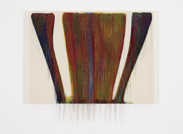 , 'Abstract Weave / Morris Louis Zayin 1958 SS01-01,' 2015, carlier | gebauer