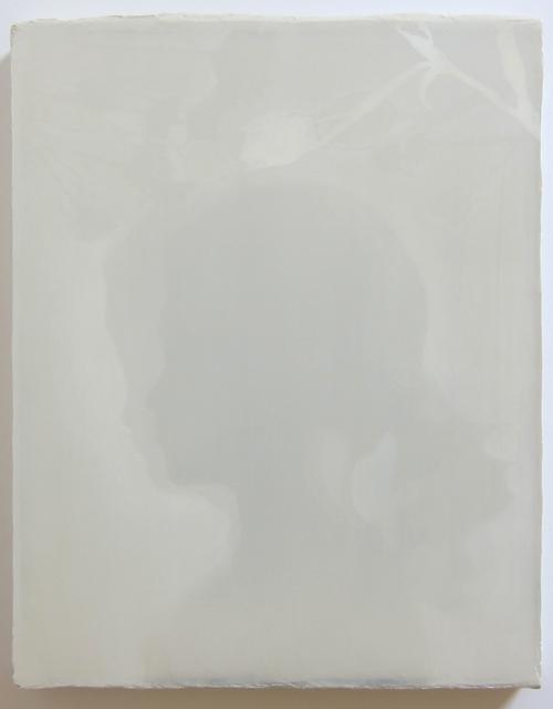 Duane Slick, 'Shadow Portrait of Ms. Luna, age 6', 2018, Albert Merola Gallery