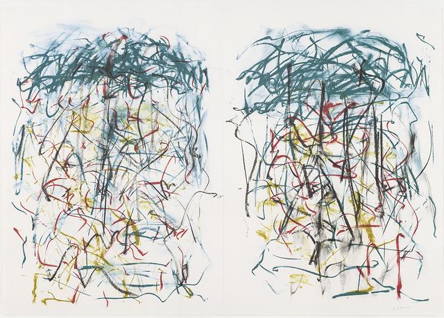 Joan Mitchell, 'Sunflowers I', 1992, Galerie Simon Blais